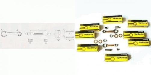 Korbowód standard sachs 2 speed - 3 speed krj6001038
