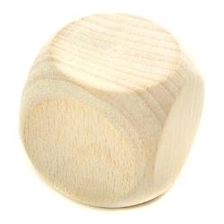 Drewniana kostka do gry 40 mm - 40MM