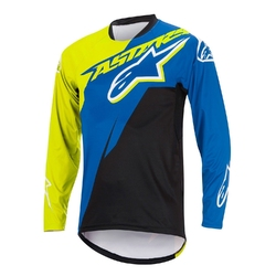 Koszulka alpinestars sight contender royal blue-acid yellow1760516-7087