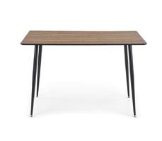 Stół industrialny maker 120x80 cm orzechczarny