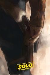 Star wars gwiezdne wojny - han solo - plakat premium wymiar do wyboru: 50x70 cm