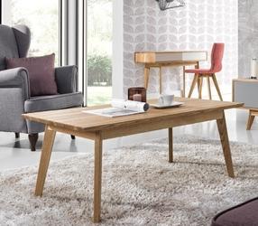 Krzesło do salonu astro welur brązowe