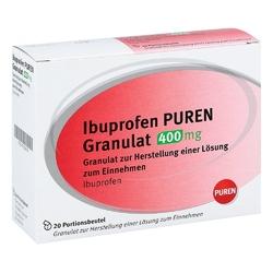 Ibuprofen puren granulat 400 mg zur, zum her.e.lsg.z.ein.