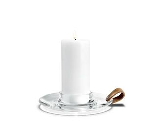 Świecznik Design with Light Chamber na grubą świecę 19 cm