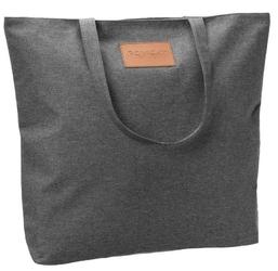 Torebka ekologiczna shopperka tekstylna a4 rovicky czarna - czarny
