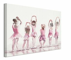 Małe baletnice - obraz na płótnie