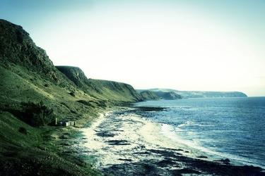Fototapeta samotne wybrzeże fp 1650