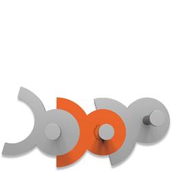 Wieszak ścienny Diennea CalleaDesign pomarańczowy 13-014-63