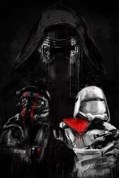 Star wars gwiezdne wojny przebudzenie mocy - plakat premium wymiar do wyboru: 40x50 cm
