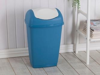 Kosz  pojemnik na śmieci tontarelli grace 50 l niebieski