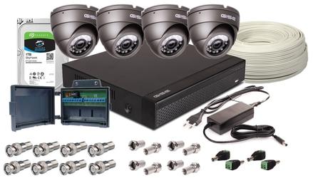 Zestaw 4w1, 4x kamera 5mpxir25, rejestrator 4ch, hdd 1tb - możliwość montażu - zadzwoń: 34 333 57 04 - 37 sklepów w całej polsce