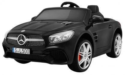 Mercedes sl500 czarny samochód na akumulator + pilot