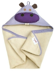 Ręcznik z kapturkiem - hipopotam