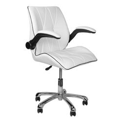 Krzesło kosmetyczne 239b białe