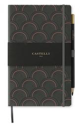 Notes castelli milano - copper  gold art deco copper