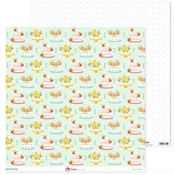 Dekoracyjny papier ślubny Si, quiero 30,5x30,5 cm - 05