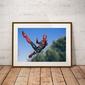 Iron spider-man ver3 - plakat wymiar do wyboru: 84,1x59,4 cm