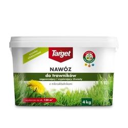 Nawóz do trawnika – zagęszczający i wypierający chwasty – 4 kg target