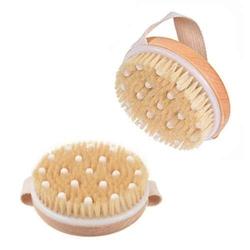 Szczotka do masażu peeling 2w1 na sucho i mokro