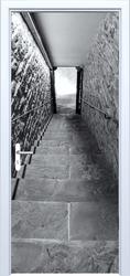 Fototapeta na drzwi schody 821