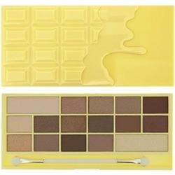 Makeup revolution 16 eyeshadows i love makeup white chocolate, paletka makijażowa 22g