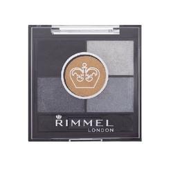 Rimmel london glam eyes hd 5 colour eye shadow 021 golden eye cienie do powiek 3,8g - 021 golden eye