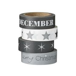 Taśma dekoracyjna washi tape december bloomingville