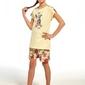 Piżama dziewczęca cornette kids girl 24565 aloha krr 86-128