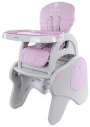 Sun baby jumbo pink krzesełko do karmienia 5w1