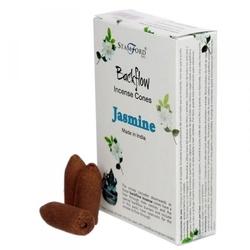Jaśmin - kadzidełka stożkowe typu backflow op. 12 szt