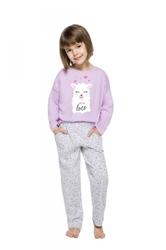 Piżama dziewczęca taro 212919 sofia dłr 104-140 20
