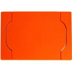 Taca do serwowania bambusowo-silikonowa freeform pomarańczowa ff-ppbs1700org