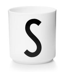 Kubek porcelanowy AJ litera S