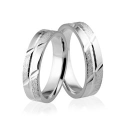 Obrączki srebrne - wzór ag-140