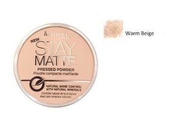 Rimmel london stay matte long lasting pressed powder puder prasowany dla kobiet 14g 006 warm beige