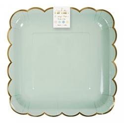 Meri meri – duże talerzyki pastelowe