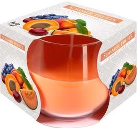 Bispol, świeca zapachowa w szkle, letnie owoce, 1 sztuka