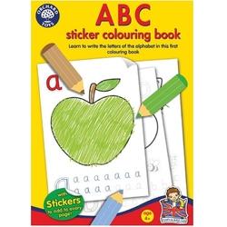 LITERKI książeczka do kolorowania z naklejkami