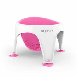 Krzesełko do kąpieli Angelcare różowe