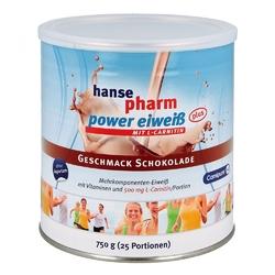 Hansepharm power eiweiss plus koktajl czekoladowy, proszek