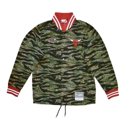 Kurtka mitchell  ness nba chicago bulls tiger camo jacket - bfjkbw19095-cbucamo