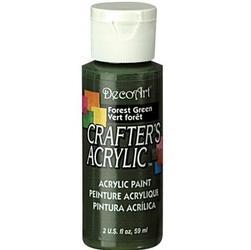 Farba akrylowa Crafters Acrylic 59 ml- zielony ciemny - ZIELCIE