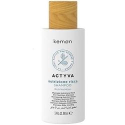 Kemon actyva nutrizione ricca, szampon ekstremalnie nawilżający włosy 100ml