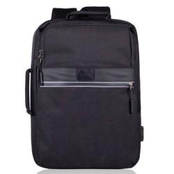 Plecak antykradzieżowy na laptopa sv07 czarny - czarny
