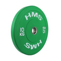 Obciążenie olimpijskie gumowane cbr10 10 kg - hms - 10 kg