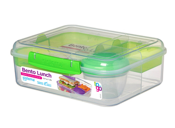 Pudełko śniadaniowe Bento Lunch To Go zielone