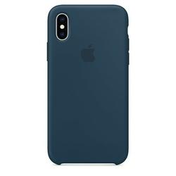 Apple Silikonowe etui do iPhonea XS - oceaniczna zieleń