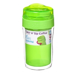 Kubek zielony Twist 'n' Sip Coffee To Go Sistema