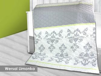 WERSAL LIMONKA Narzuta - Kołdra Satynowa GRENO - Narzuta - Kołdra  limonkowy