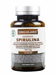 SINGULARIS Spirulina 700mg Superior x 60 Veggie kapsułek
